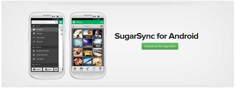 SugarSync Android App