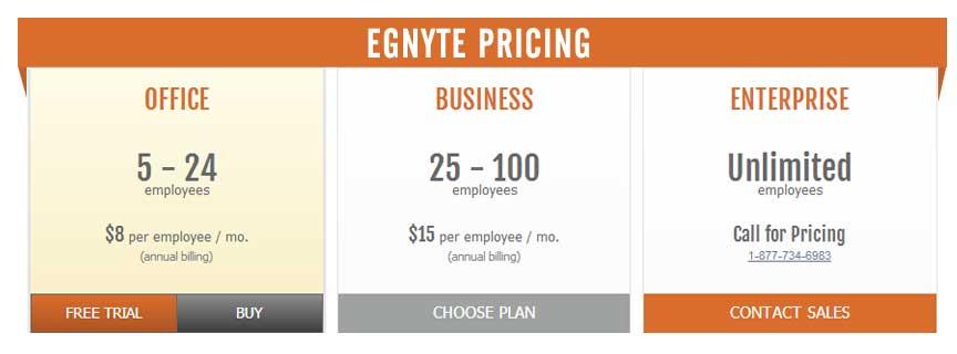 Egnyte Online Storage