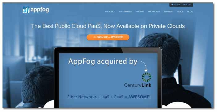 CenturyLink Buys AppFog to Ignite its Cloud Power