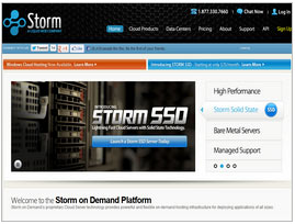 Storm On Demand Hosting Review