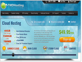 TMD Cloud Hosting Review