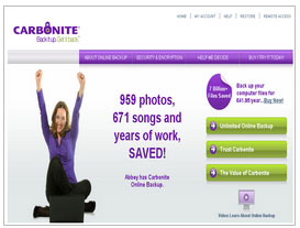 Carbonite Online Backup Review